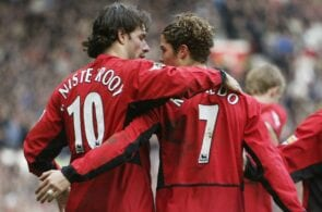 Ruud van Nistelrooy, Cristiano Ronaldo, Manchester United