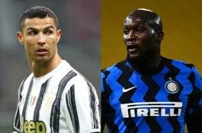 Cristiano Ronaldo of Juventus, Romelu Lukaku of Inter Milan