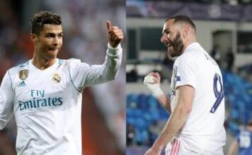 Cristiano Ronaldo, Karim Benzema - Real Madrid