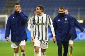 Federico Chiesa, Cristiano Ronaldo, Juventus