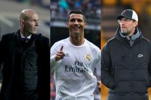 Zinedine Zidane, Cristiano Ronaldo, Jurgen Klopp, Real Madrid
