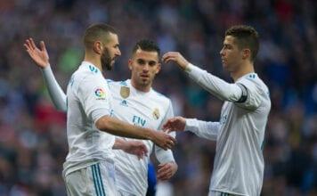 Cristiano Ronaldo, Karim Benzema, Real Madrid