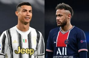 Cristiano Ronaldo - Juventus, Neymar - PSG