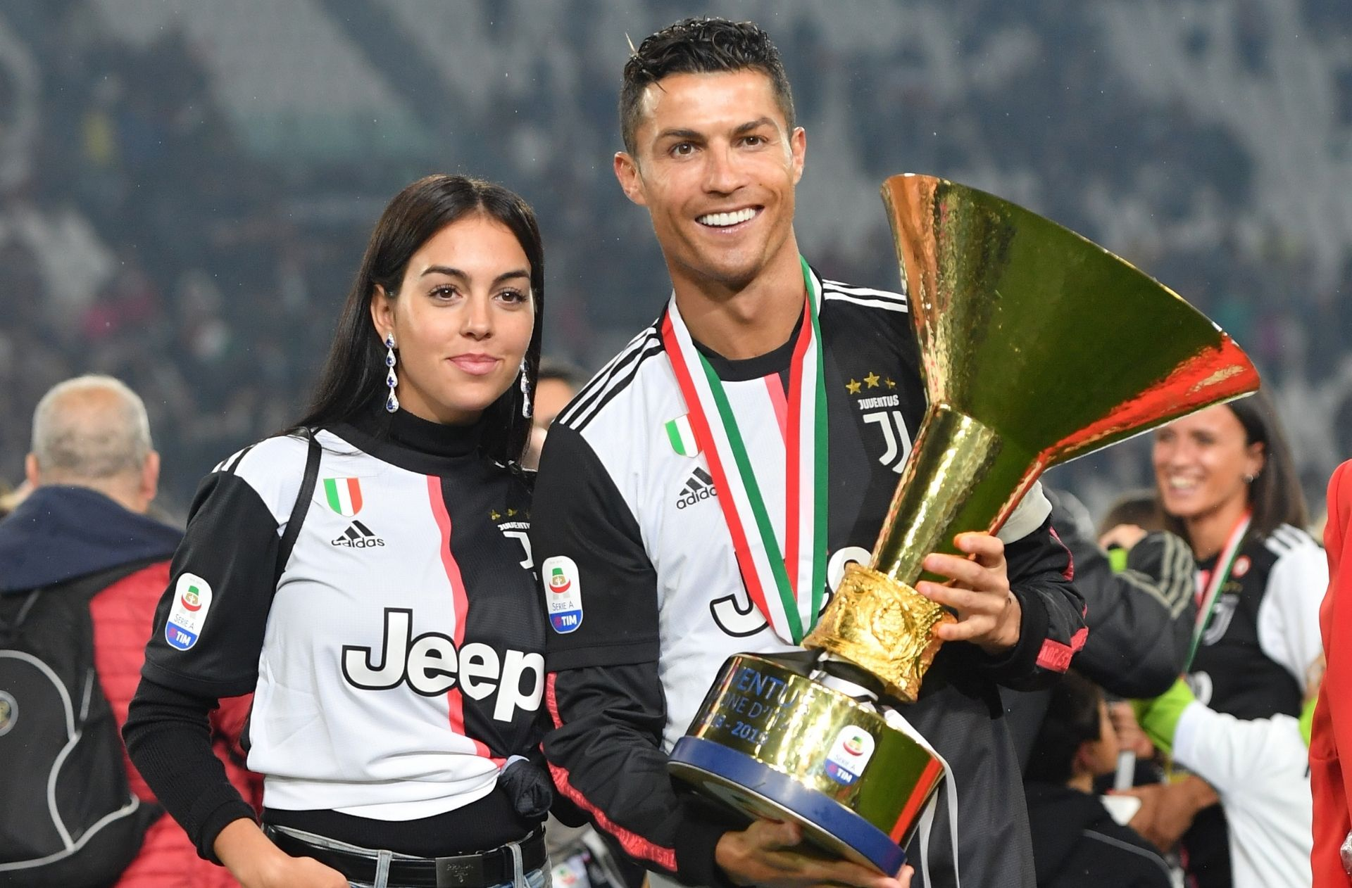 Cristiano Ronaldo, Georgina Rodriguez, Juventus