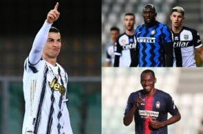 Serie A top scorers list, Cristiano Ronaldo