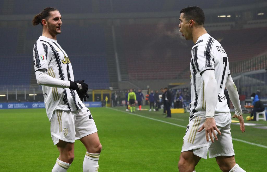 Adrien Rabiot, Cristiano Ronaldo, Juventus