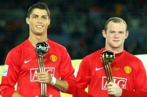Cristiano Ronaldo, Wayne Rooney, Manchester United