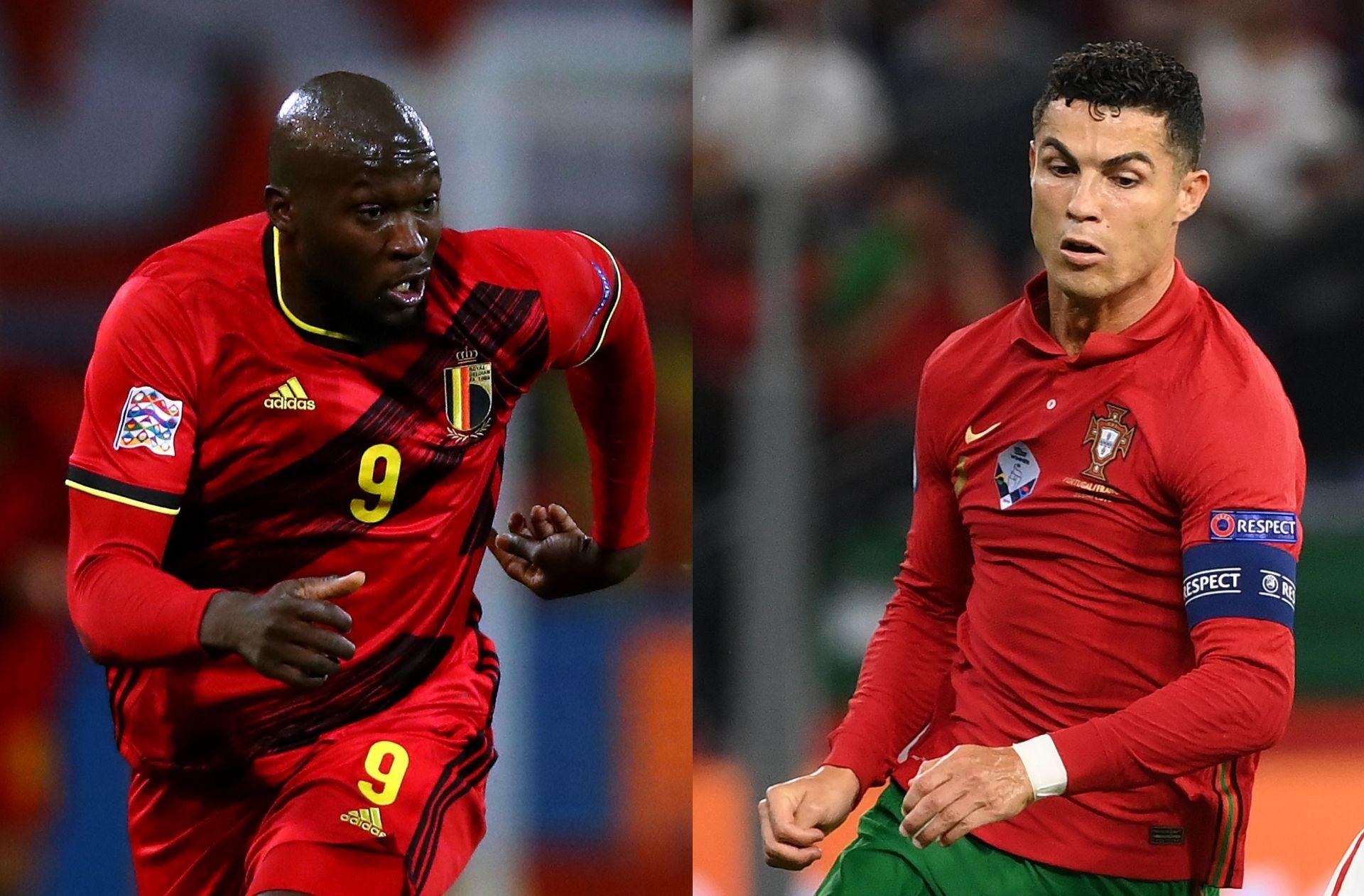 Romelu Lukaku - Belgium, Cristiano Ronaldo - Portugal