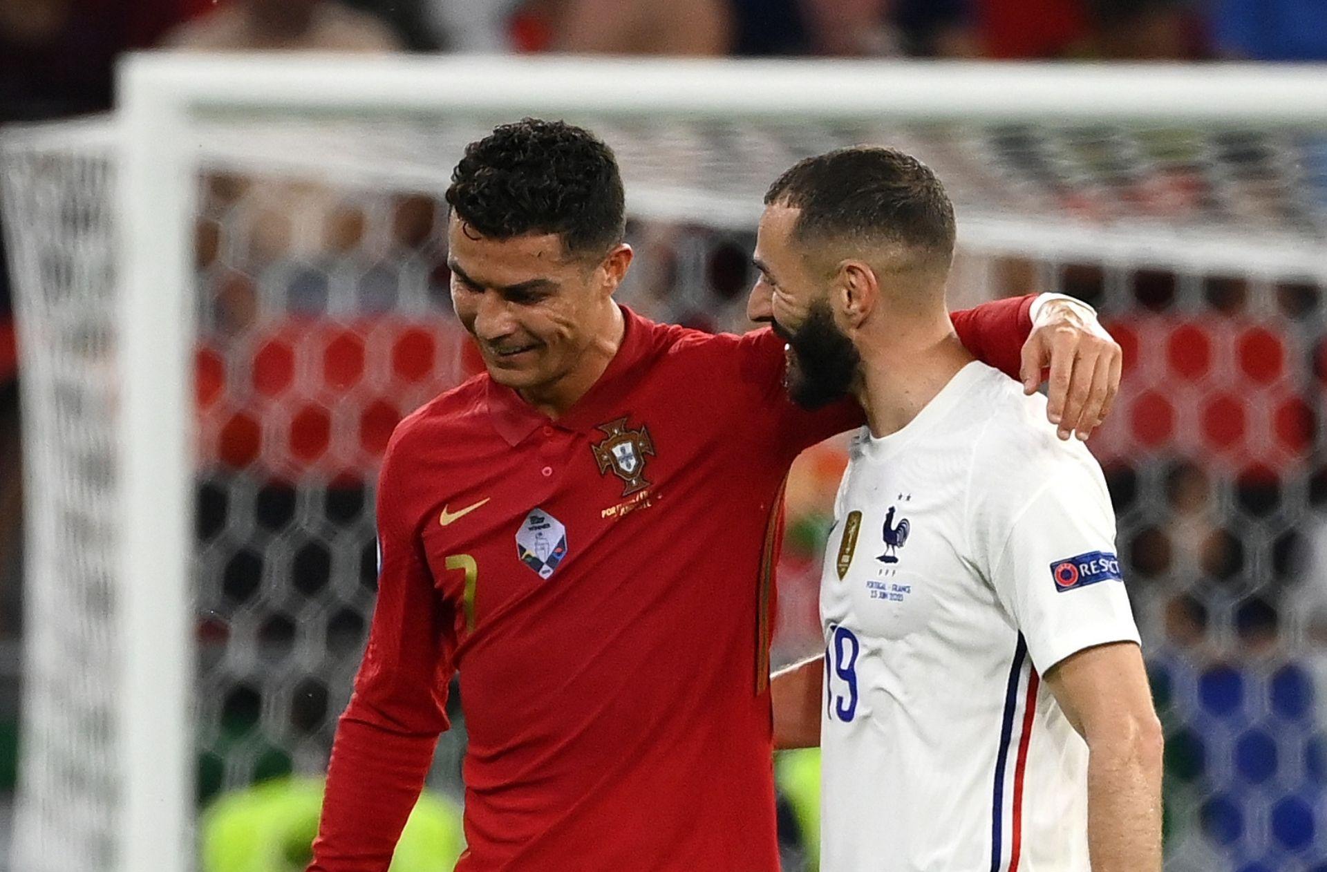 Cristiano Ronaldo & Karim Benzema - Portugal vs France
