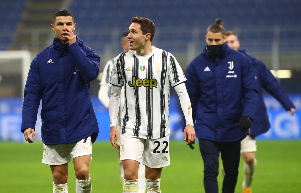 Federico Chiesa, Cristiano Ronaldo