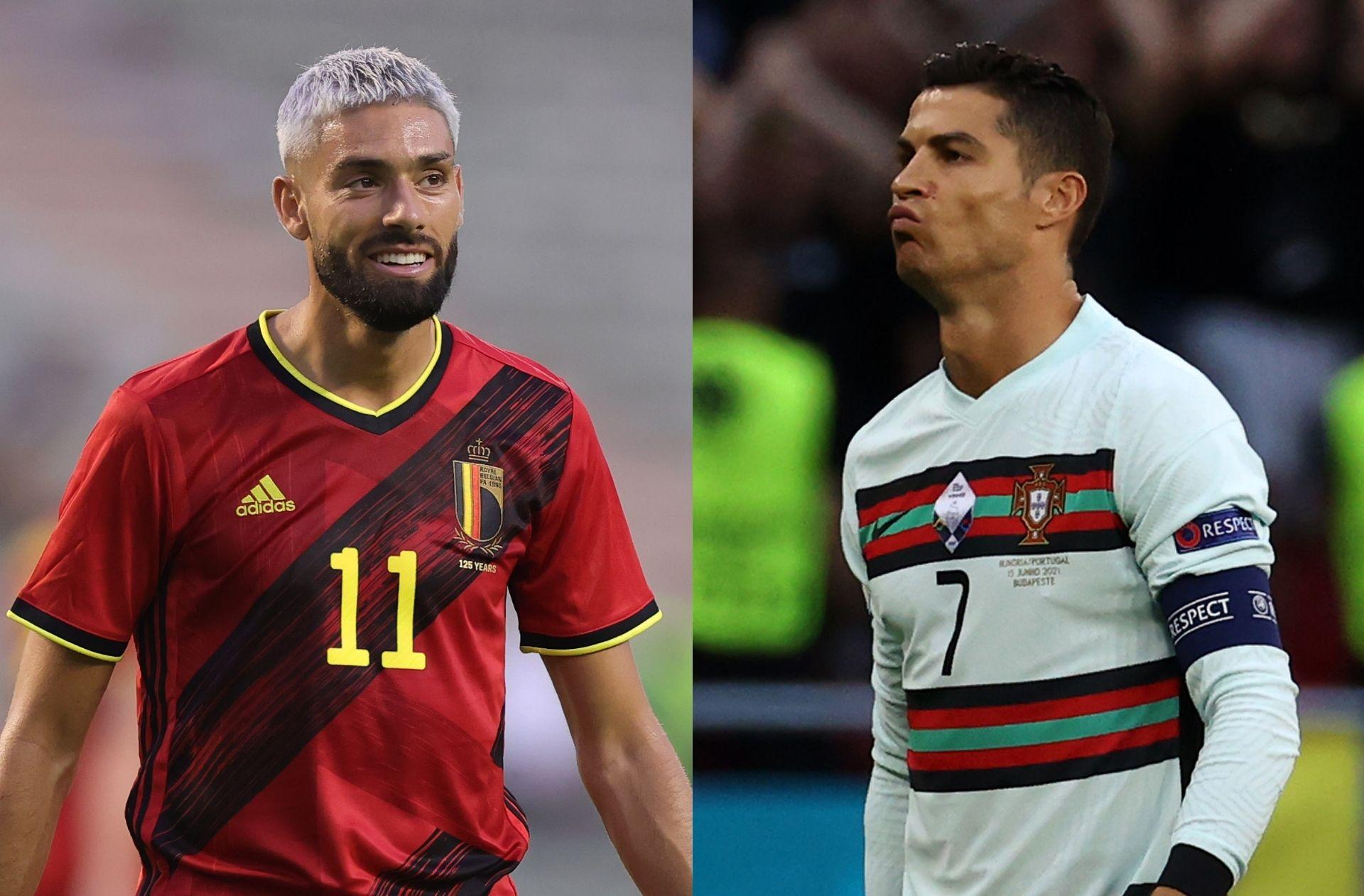 Yannick Carrasco, Cristiano Ronaldo