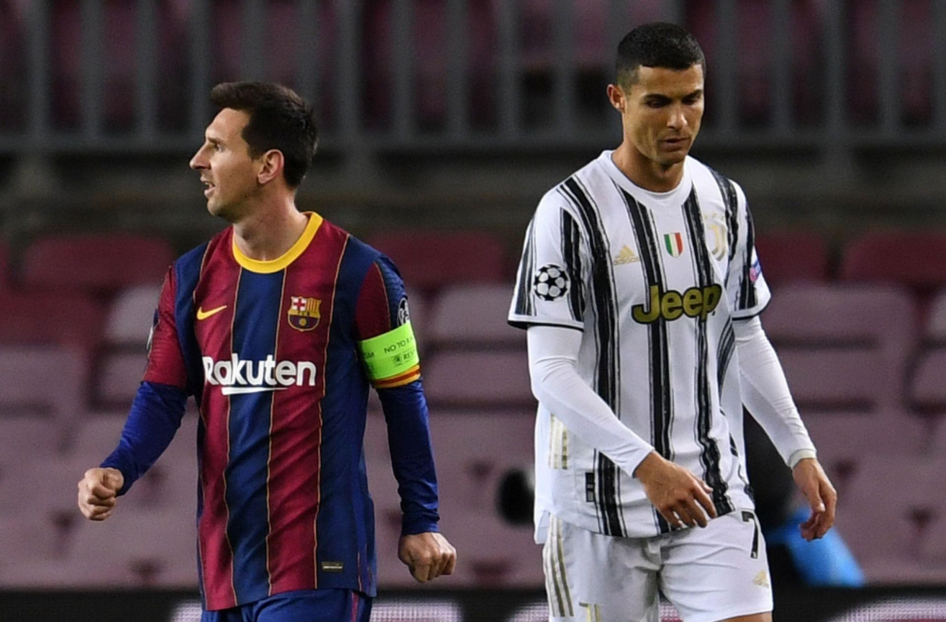 Lionel Messi - FC Barcelona, Cristiano Ronaldo - Juventus