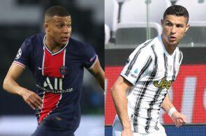 Kylian Mbappe - PSG, Cristiano Ronaldo - Juventus