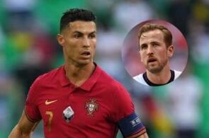 Ronaldo - Portugal, Kane - England