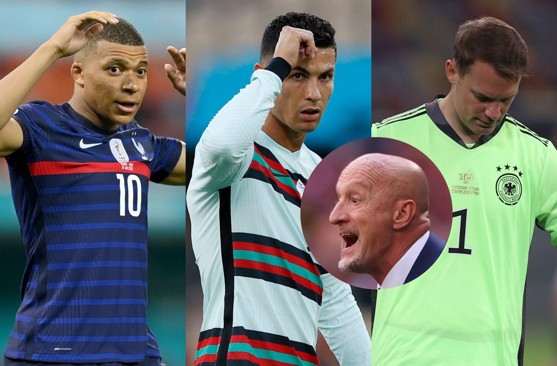 Mbappe, Ronaldo, Neuer, Rossi