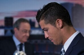 Cristiano Ronaldo, Florentino Perez - Real Madrid