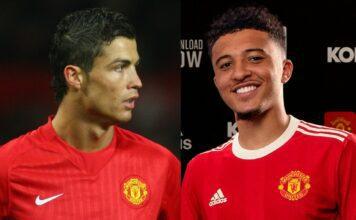 Cristiano Ronaldo, Jadon Sancho - Man United