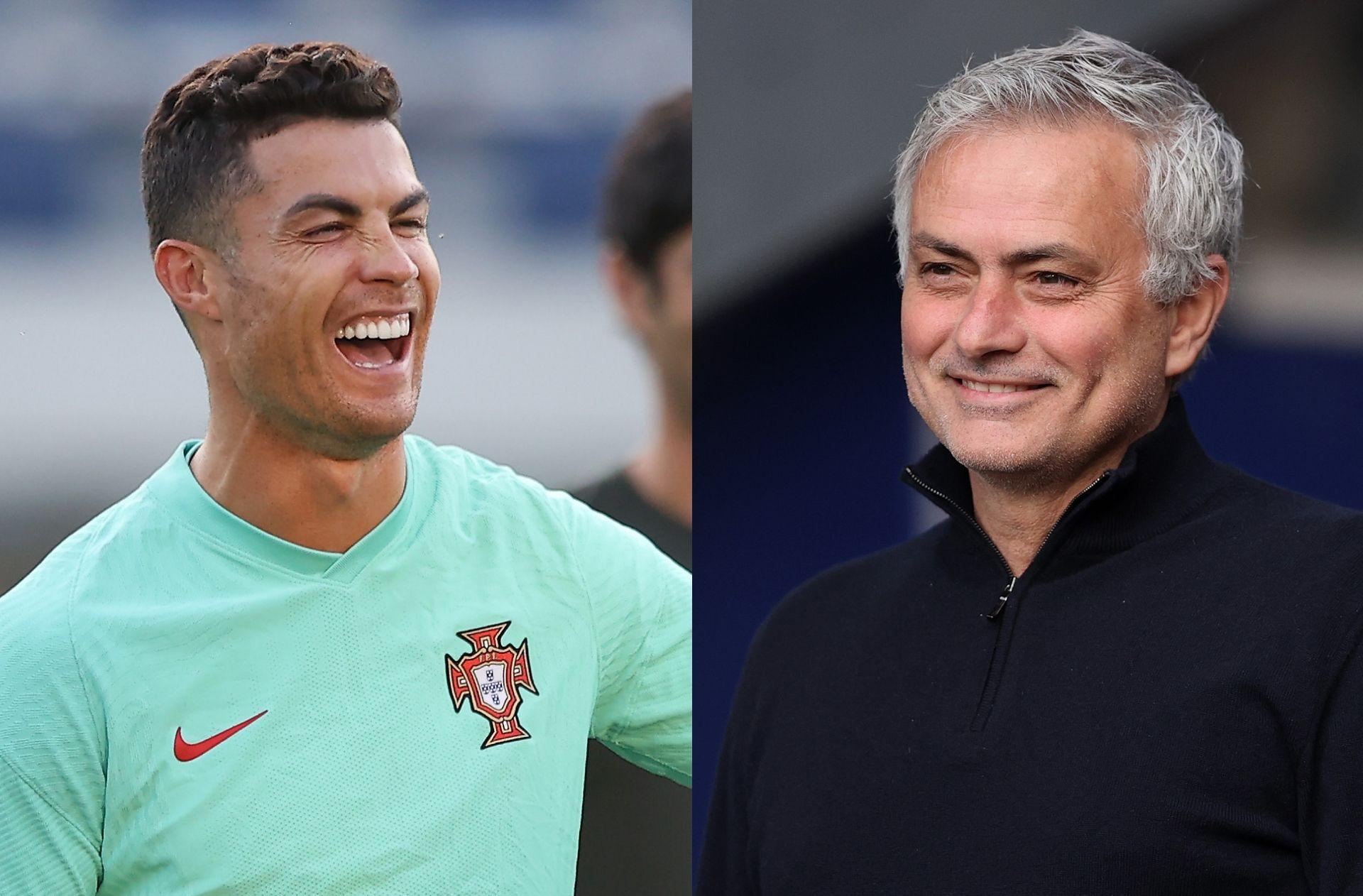 Cristiano Ronaldo, Jose Mourinho