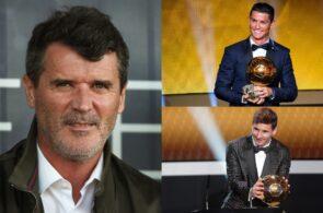 Roy Keane, Lionel Messi, Cristiano Ronaldo