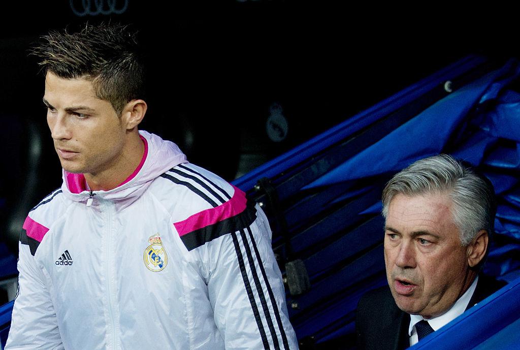 Cristiano Ronaldo, Carlo Ancelotti, Real Madrid