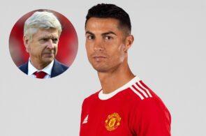 Arsene Wenger, Cristiano Ronaldo - Man United