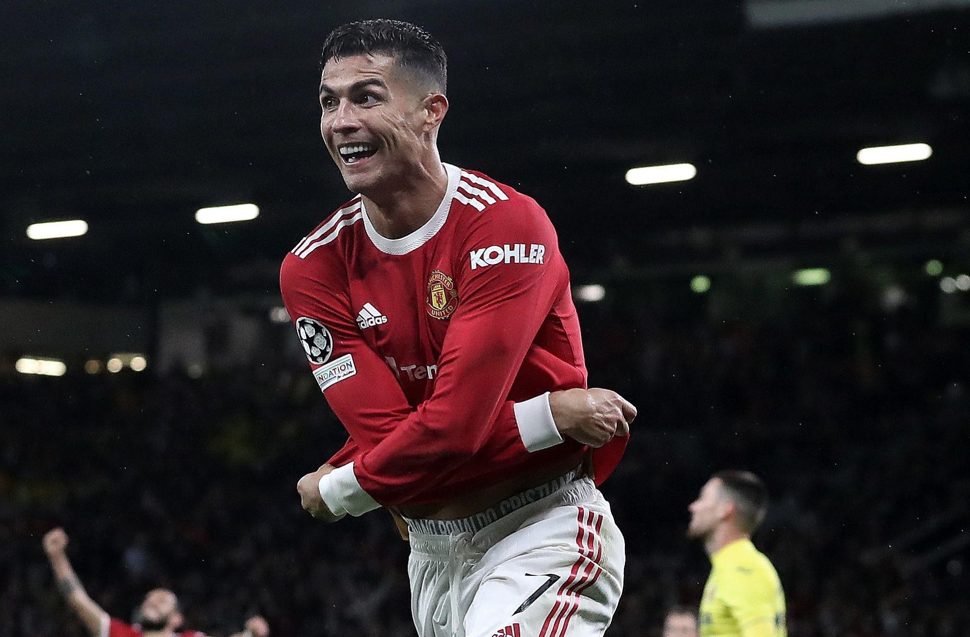 Cristiano Ronaldo - Man United vs Villarreal