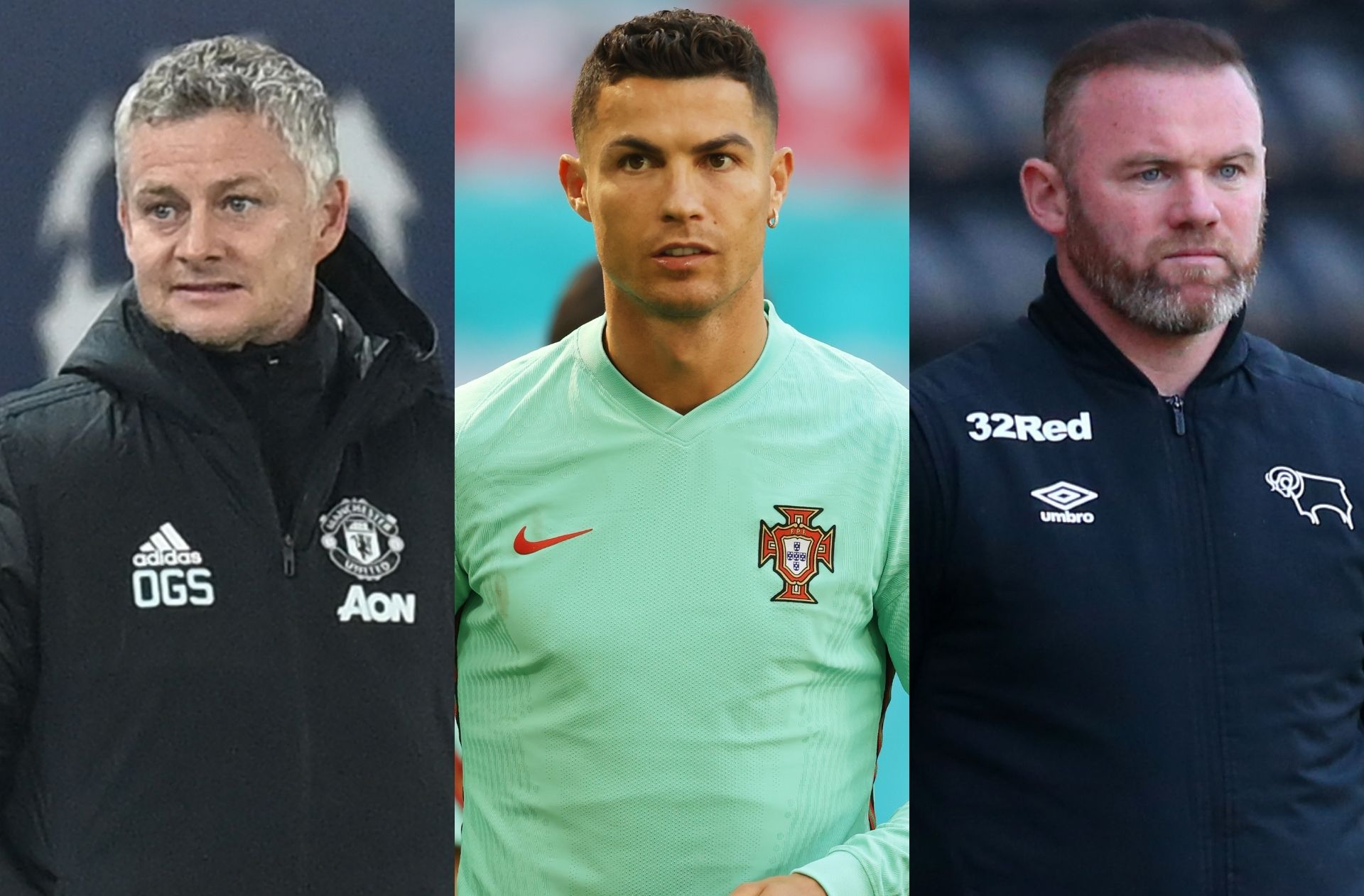 Ole Gunnar Solskjaer, Cristiano Ronaldo, Wayne Rooney
