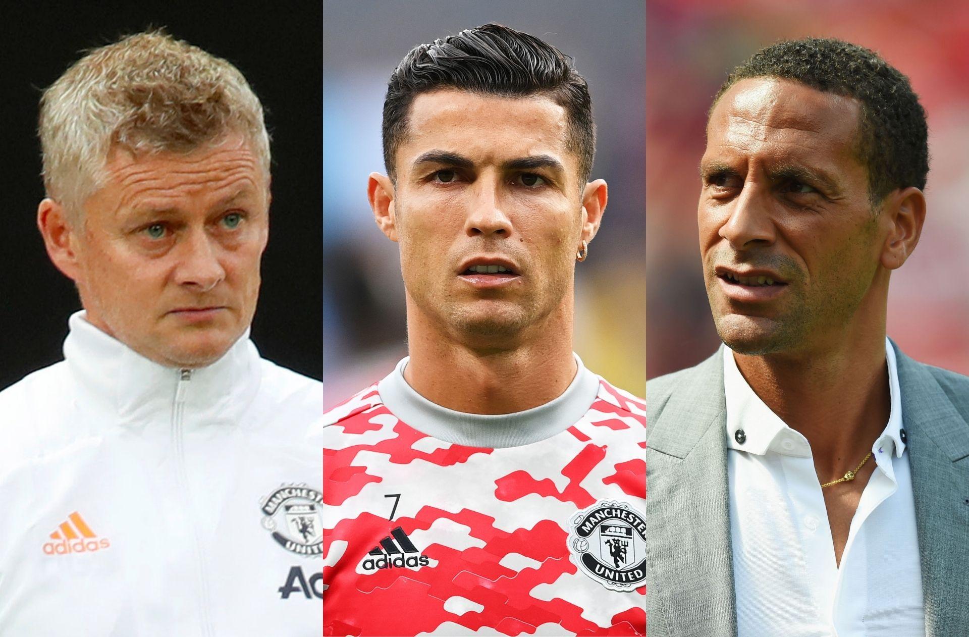 Ole Gunnar Solskjaer, Cristiano Ronaldo, Rio Ferdinand