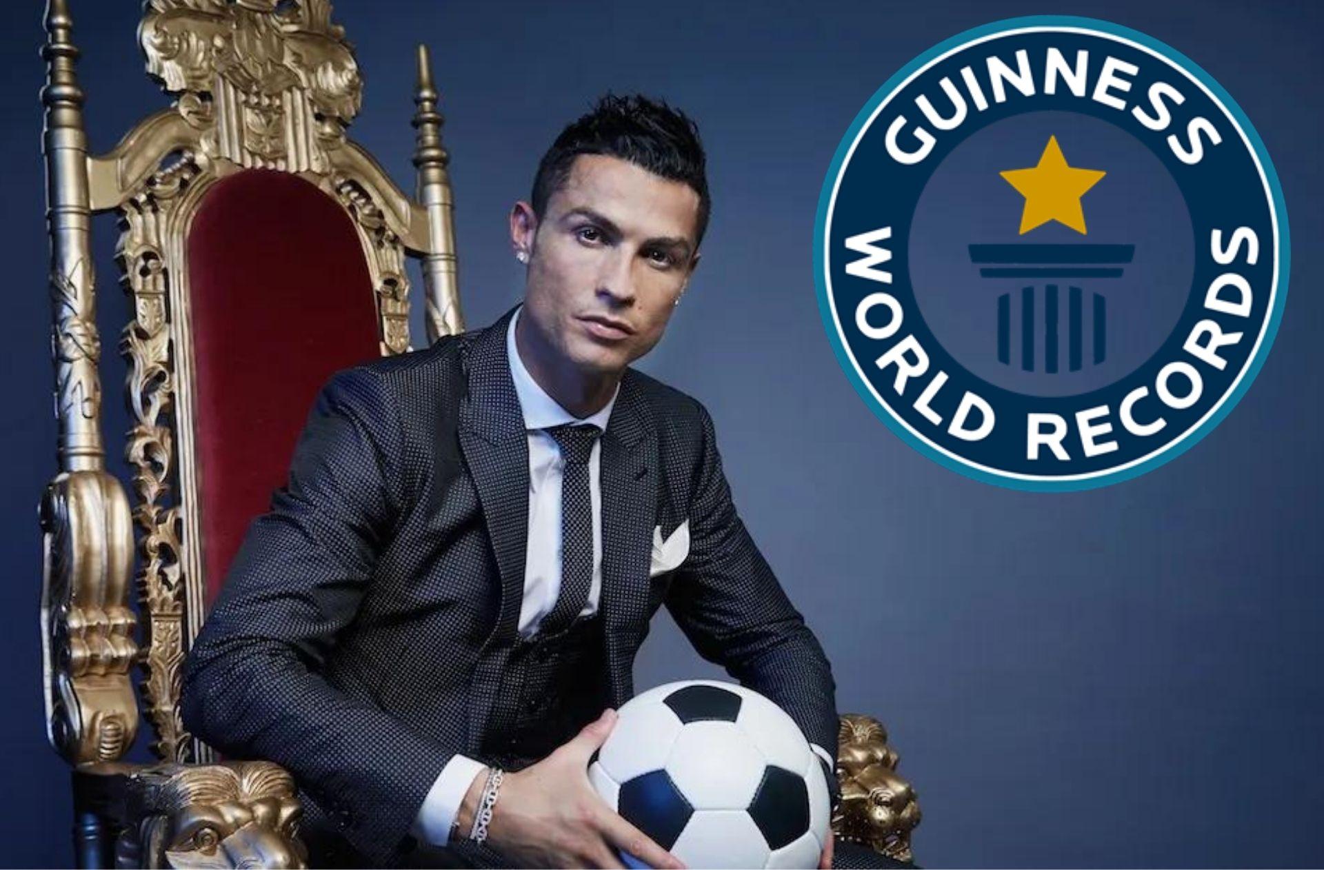 Cristiano Ronaldo, Guinness World Records