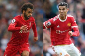 Mohamed Salah - Liverpool, Cristiano Ronaldo - Man United