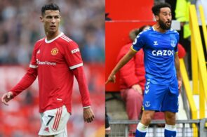 Cristiano Ronaldo - Man United, Andros Townsend - Everton